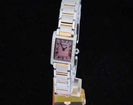montre noire et rose mk